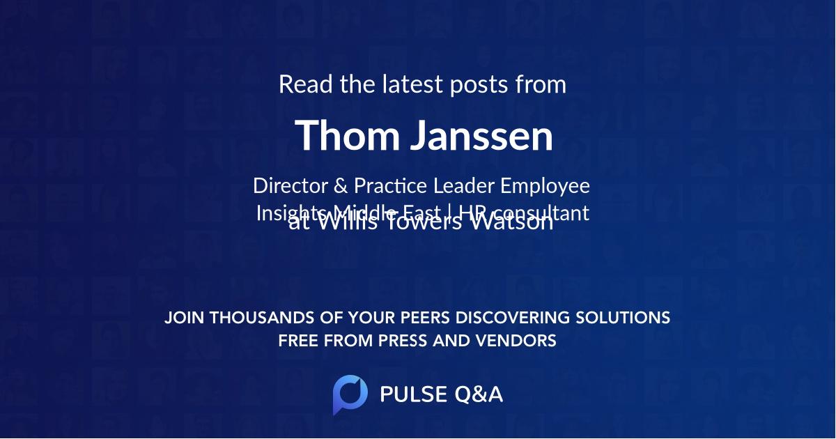 Thom Janssen