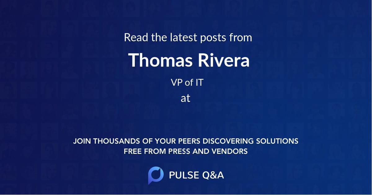 Thomas Rivera