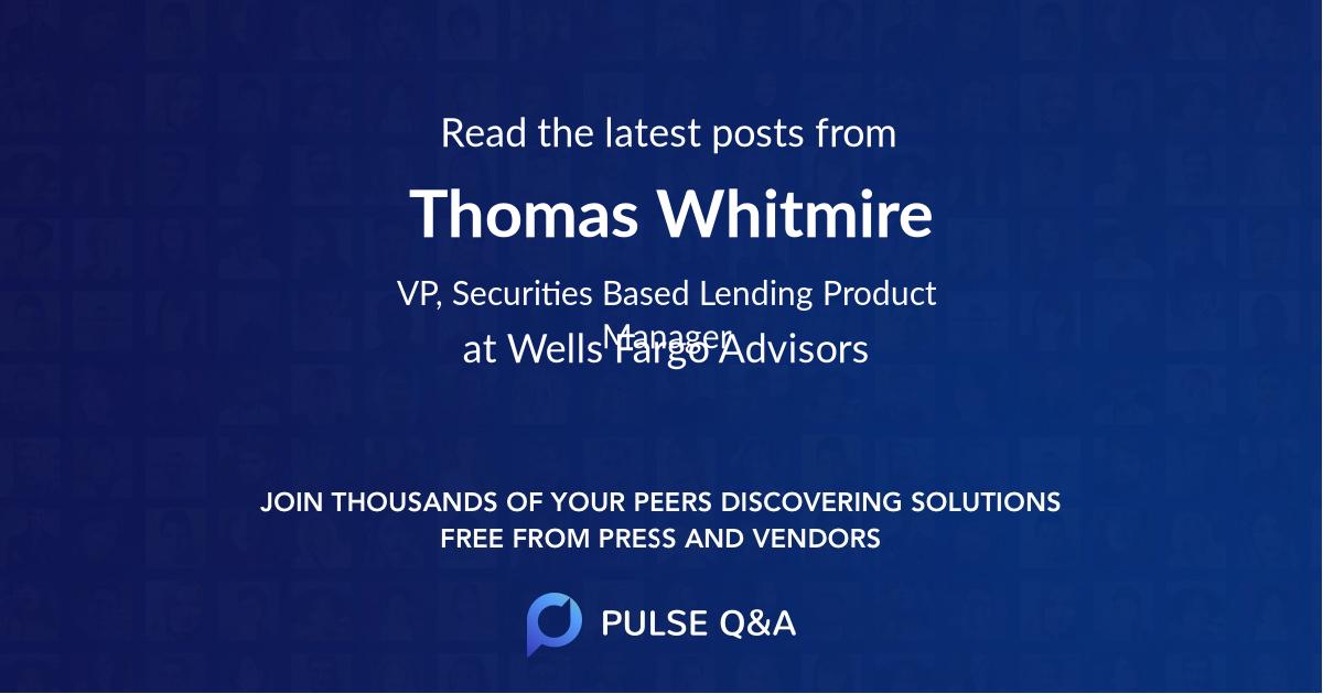 Thomas Whitmire