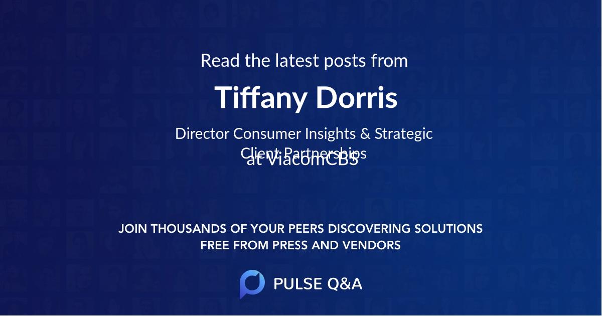Tiffany Dorris