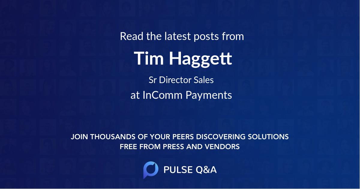 Tim Haggett