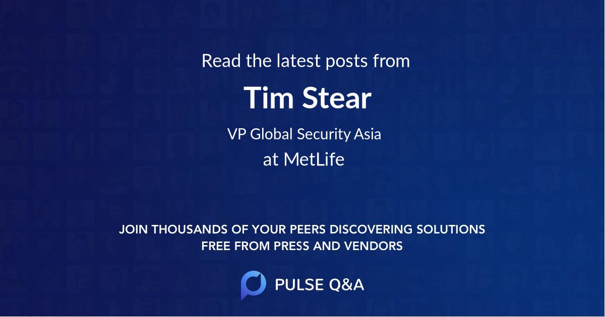 Tim Stear