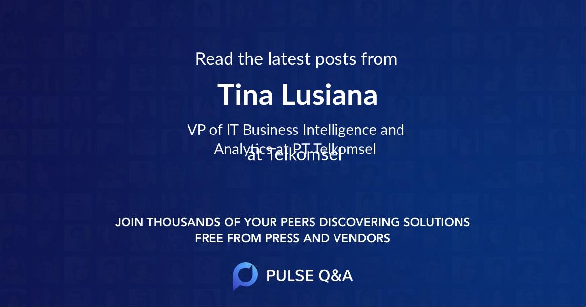 Tina Lusiana