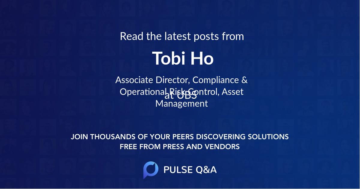 Tobi Ho