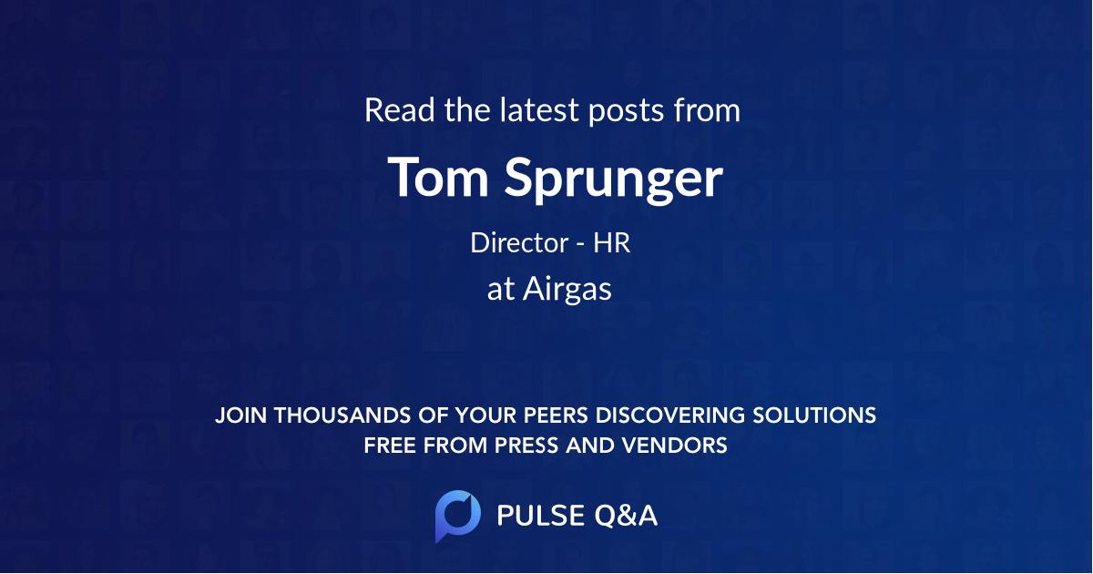 Tom Sprunger