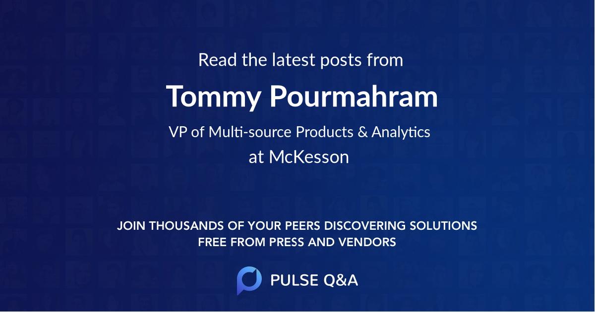 Tommy Pourmahram