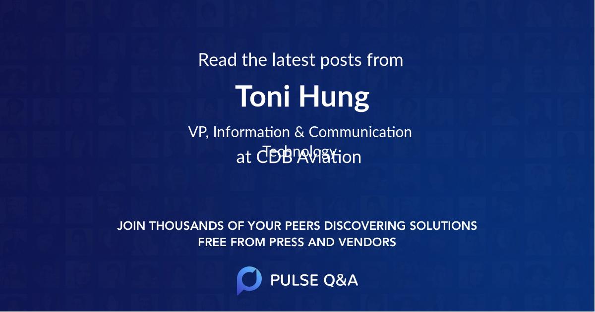 Toni Hung