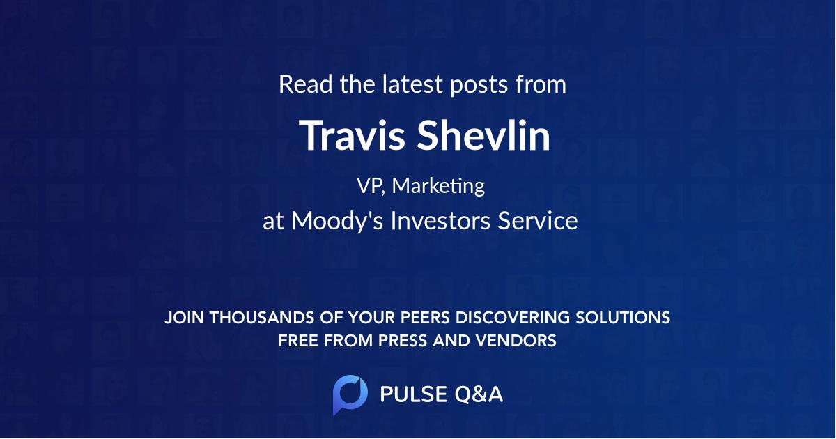 Travis Shevlin