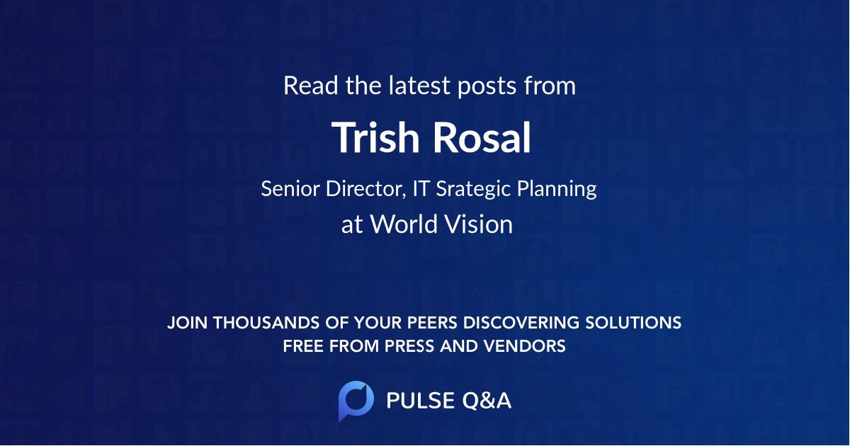 Trish Rosal