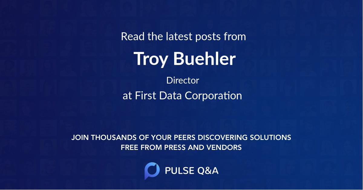 Troy Buehler
