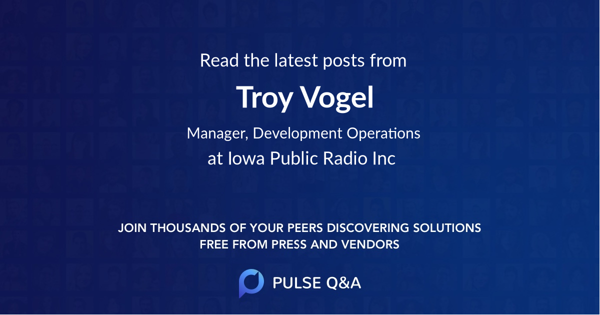 Troy Vogel
