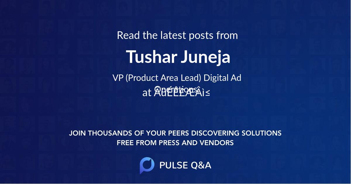 Tushar Juneja