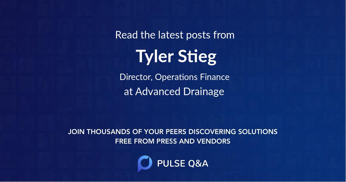 Tyler Stieg