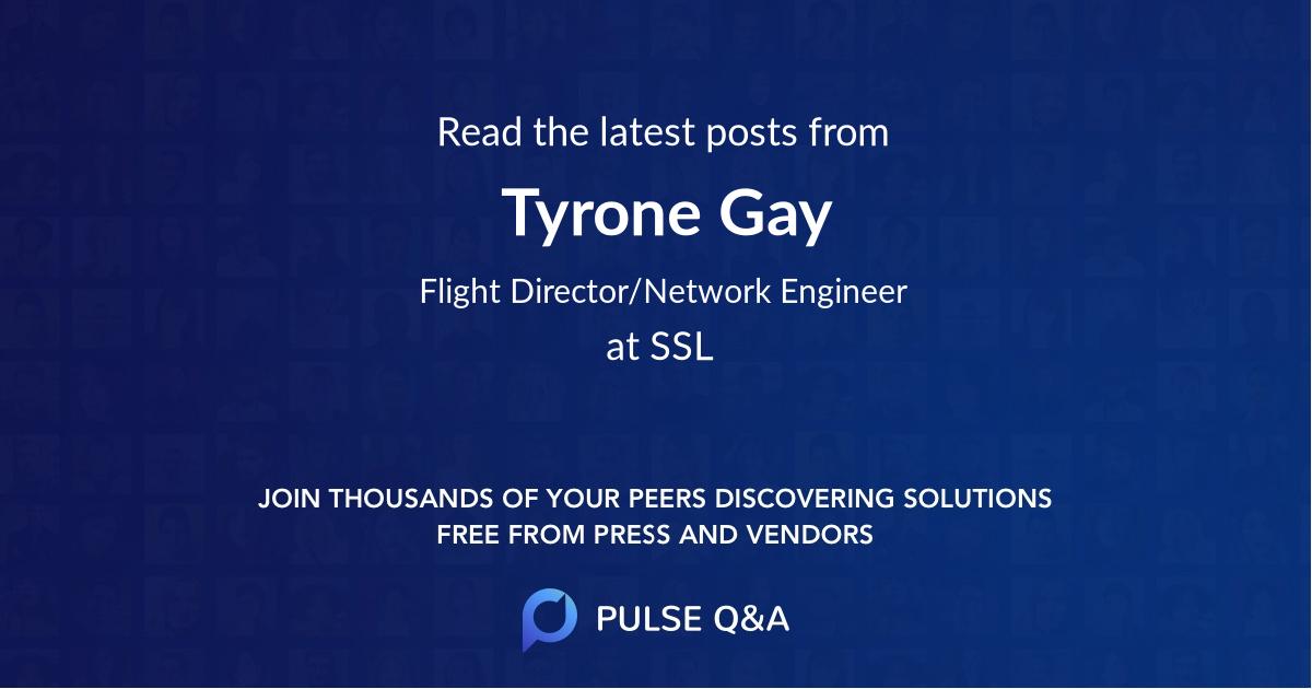 Tyrone Gay