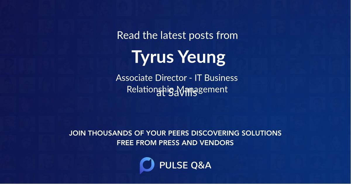 Tyrus Yeung