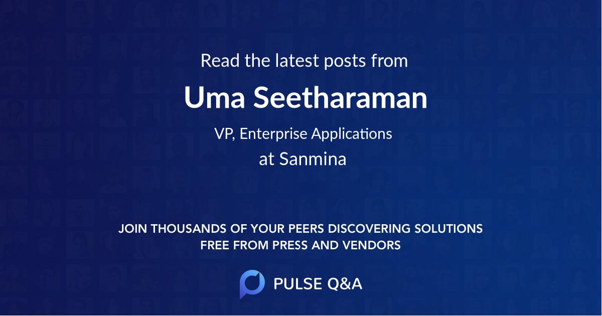 Uma Seetharaman