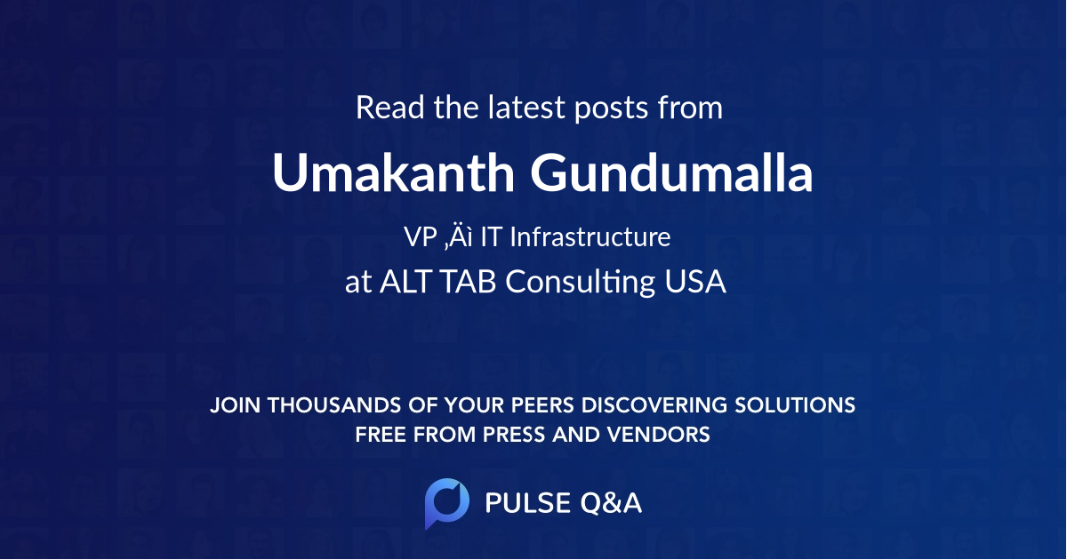Umakanth Gundumalla