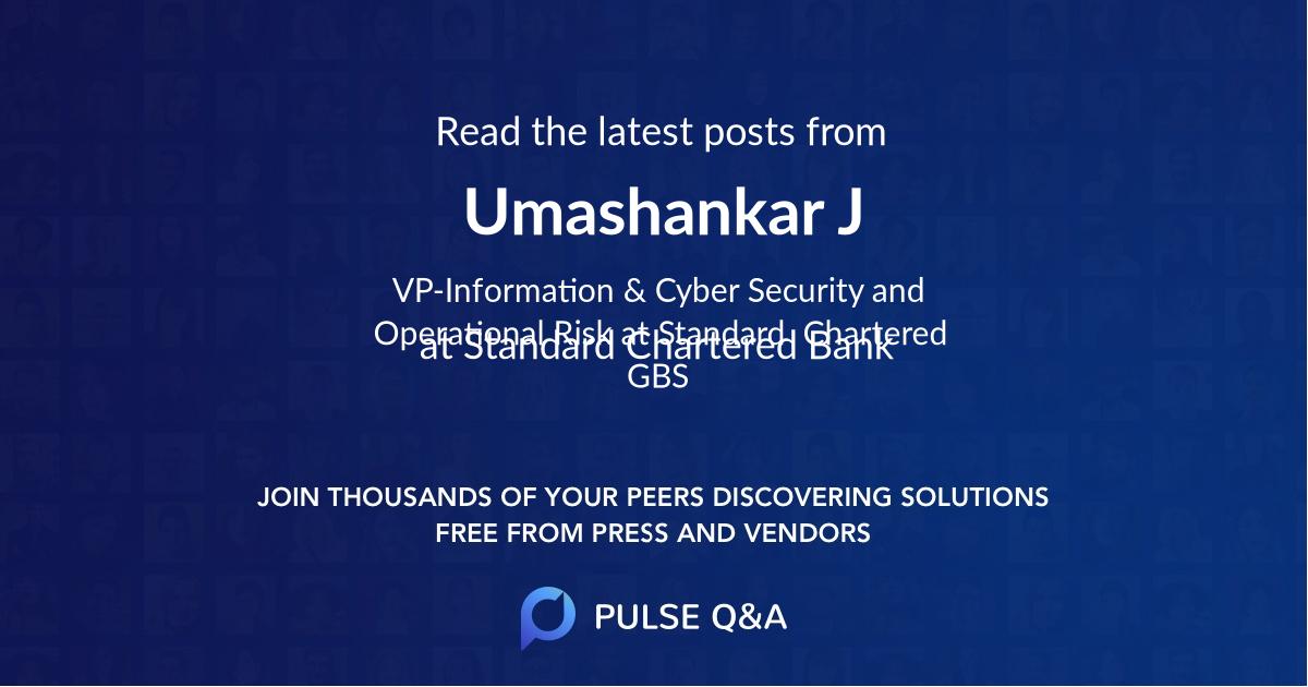 Umashankar J