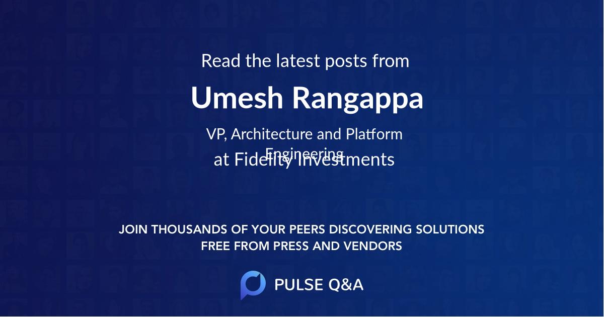 Umesh Rangappa