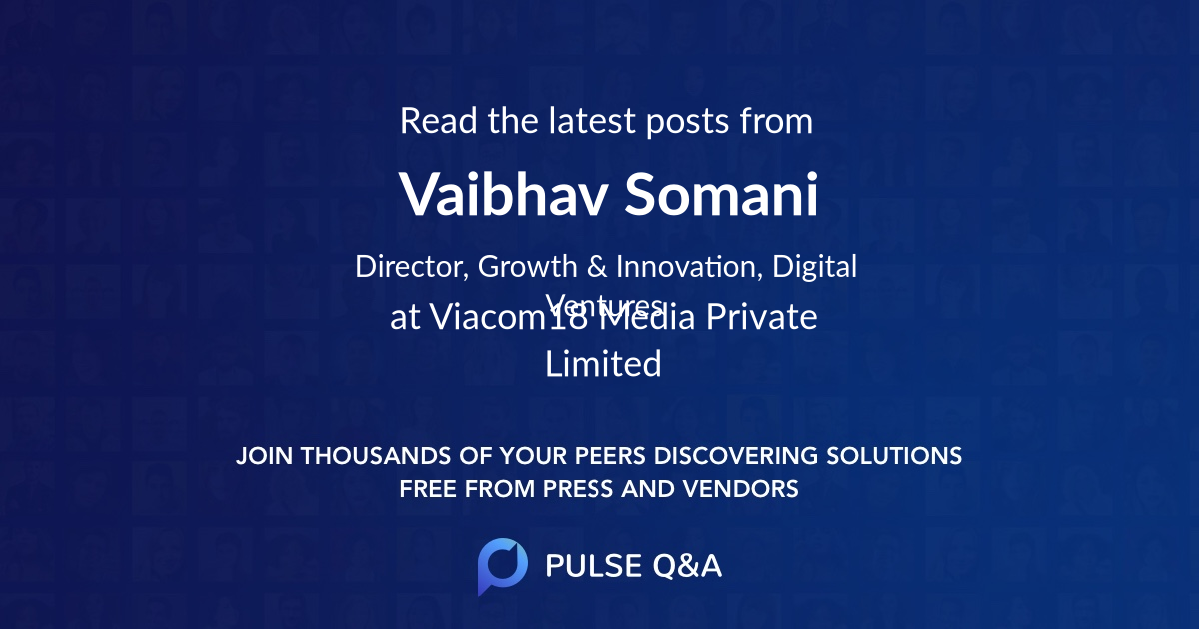 Vaibhav Somani
