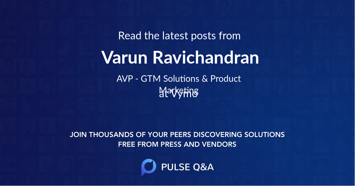 Varun Ravichandran