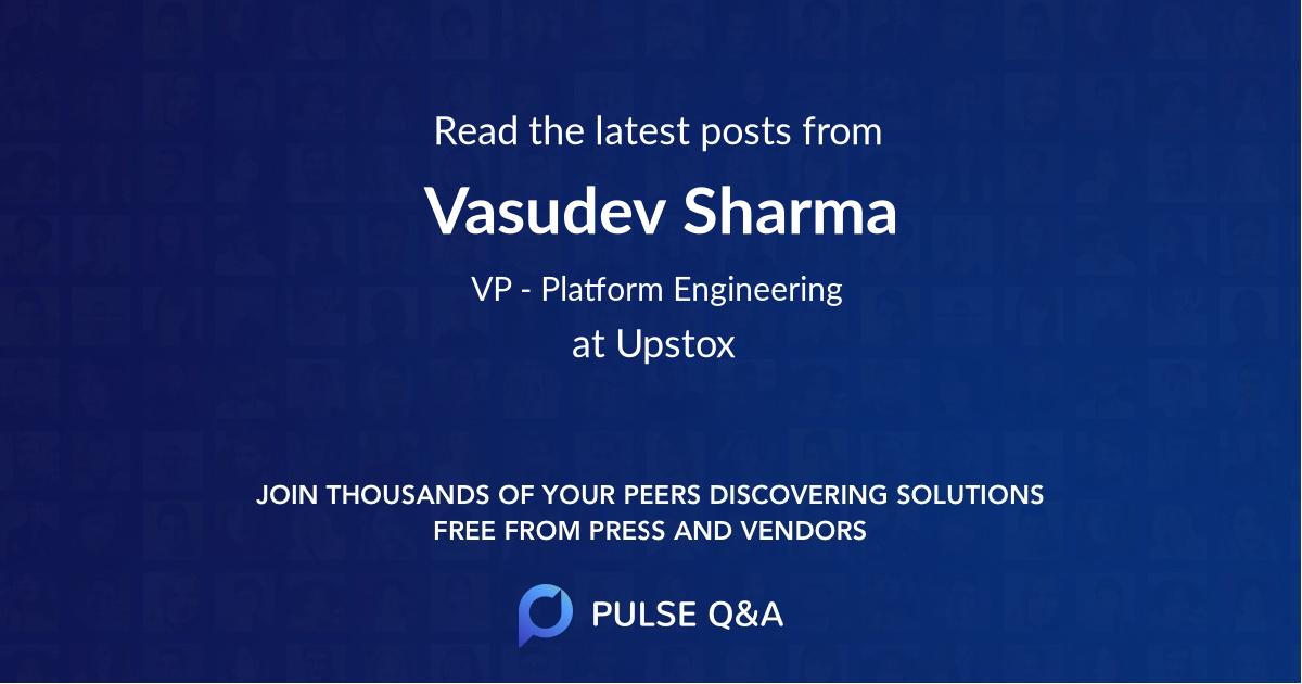 Vasudev Sharma