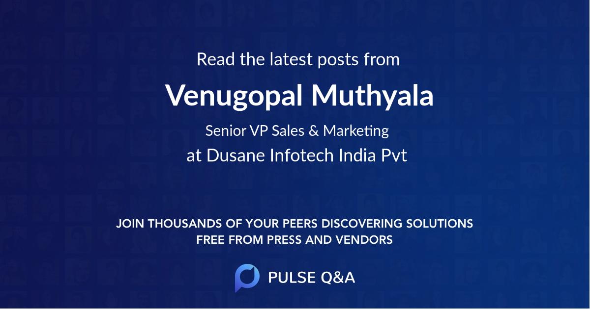 Venugopal Muthyala