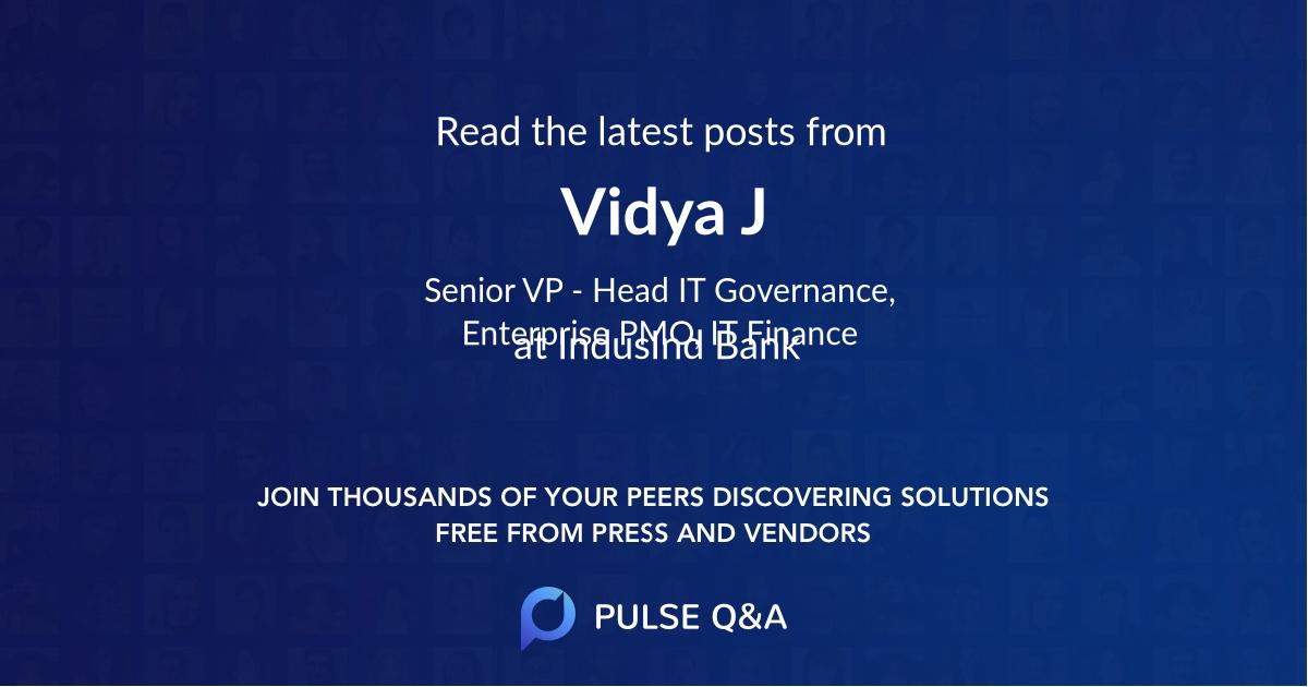 Vidya J