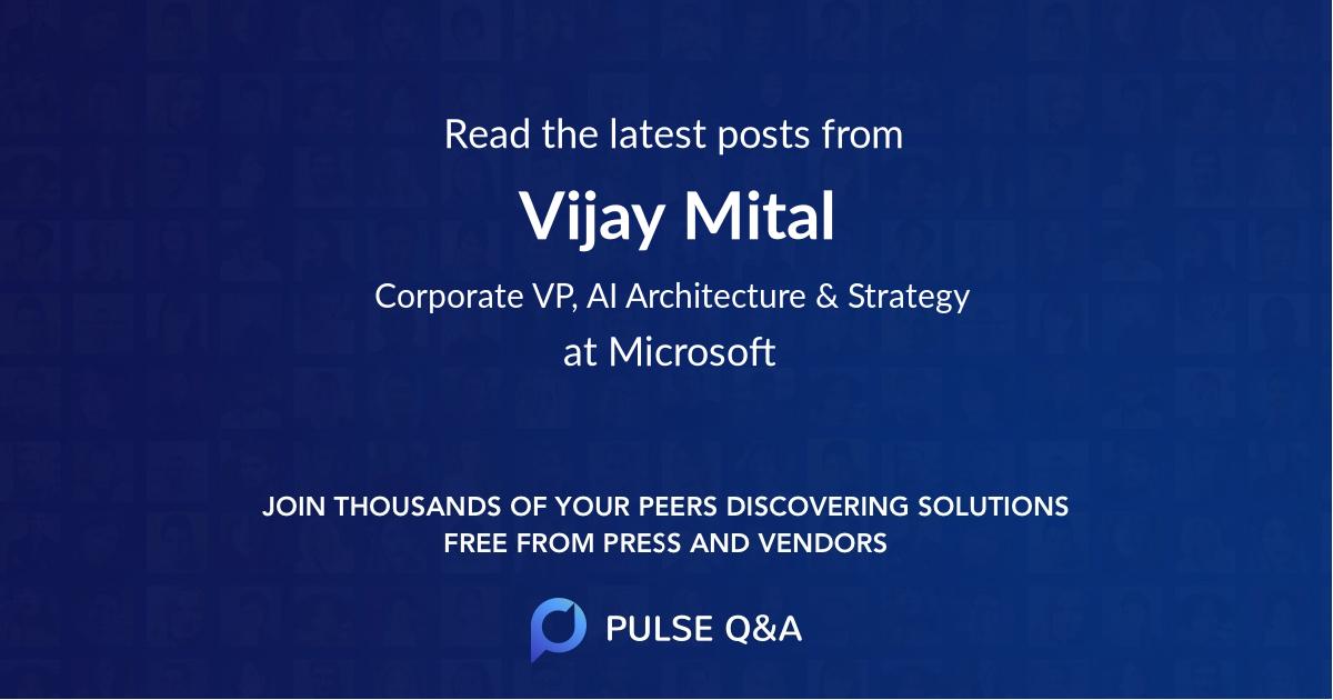Vijay Mital