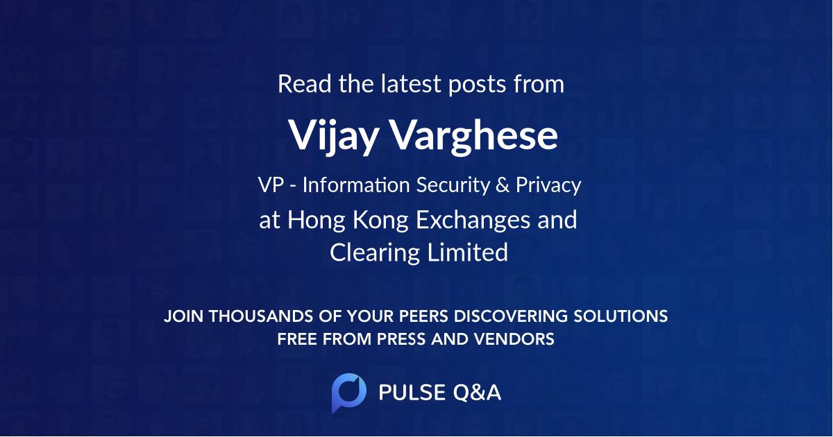 Vijay Varghese