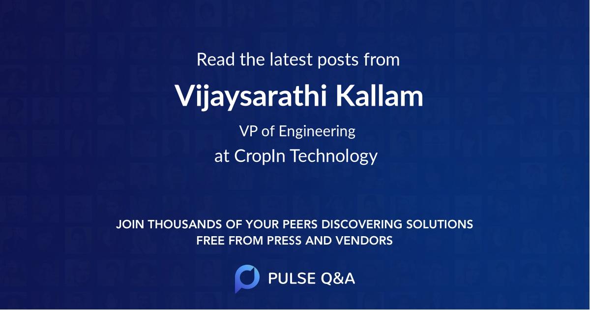 Vijaysarathi Kallam