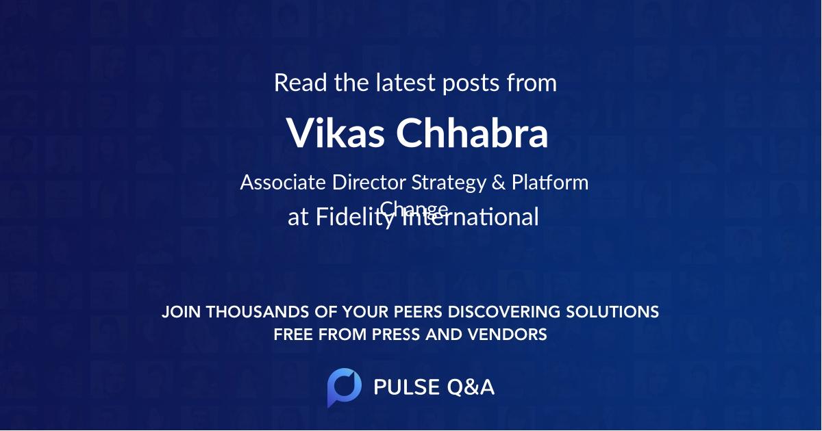 Vikas Chhabra