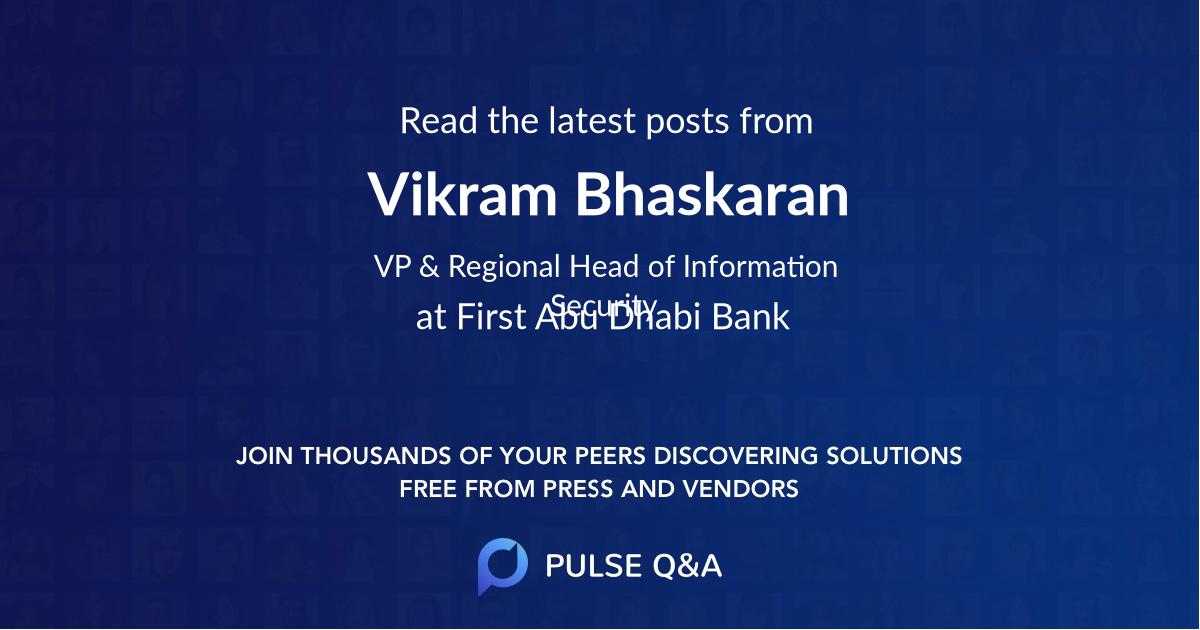 Vikram Bhaskaran