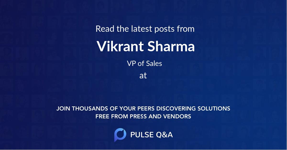 Vikrant Sharma