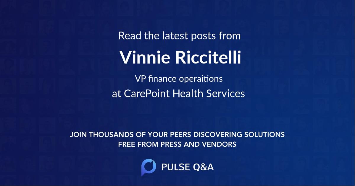 Vinnie Riccitelli