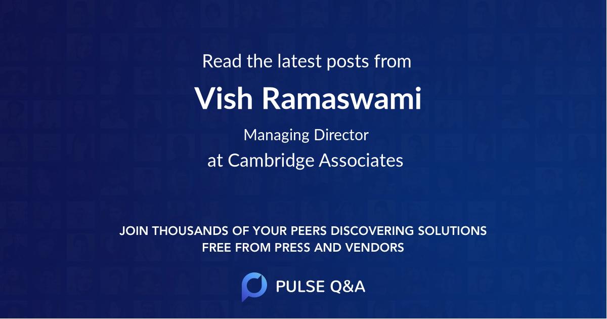 Vish Ramaswami