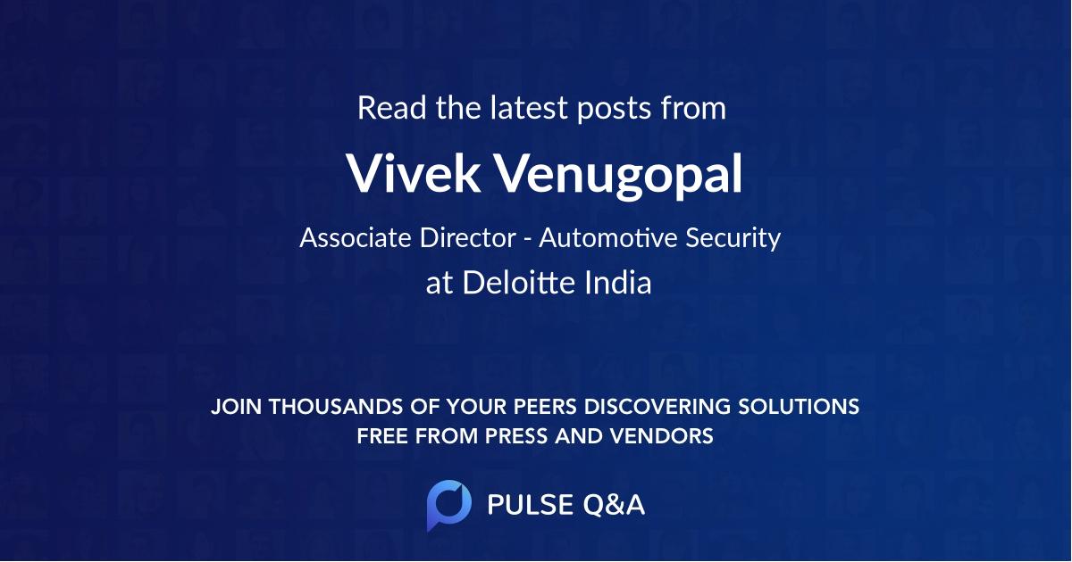Vivek Venugopal