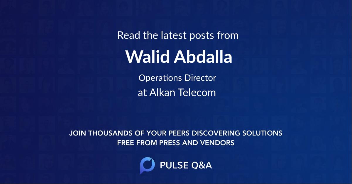 Walid Abdalla