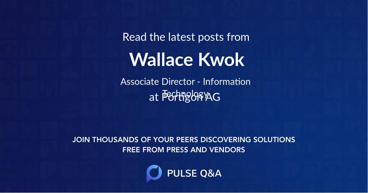 Wallace Kwok