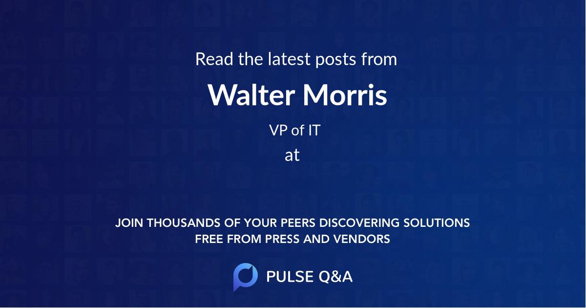 Walter Morris