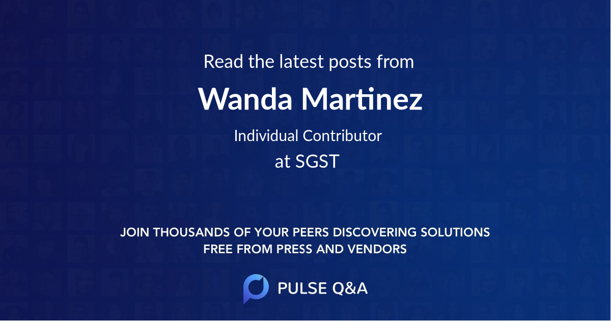 Wanda Martinez
