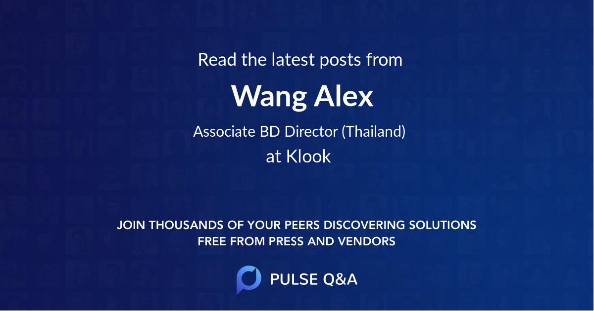 Wang Alex