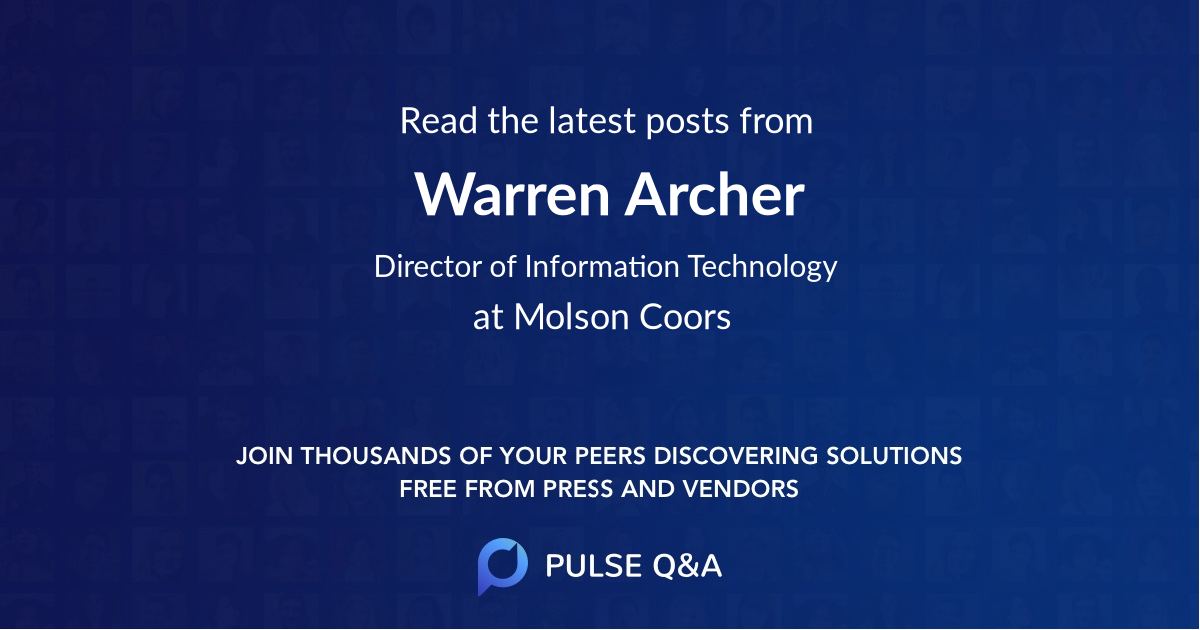 Warren Archer