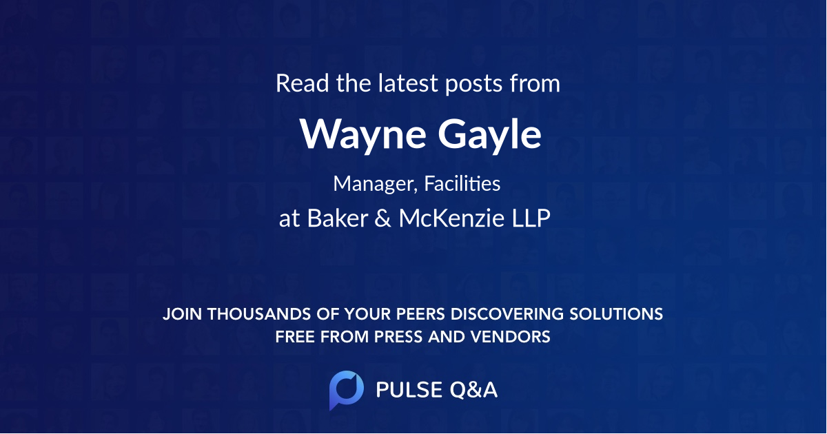 Wayne Gayle