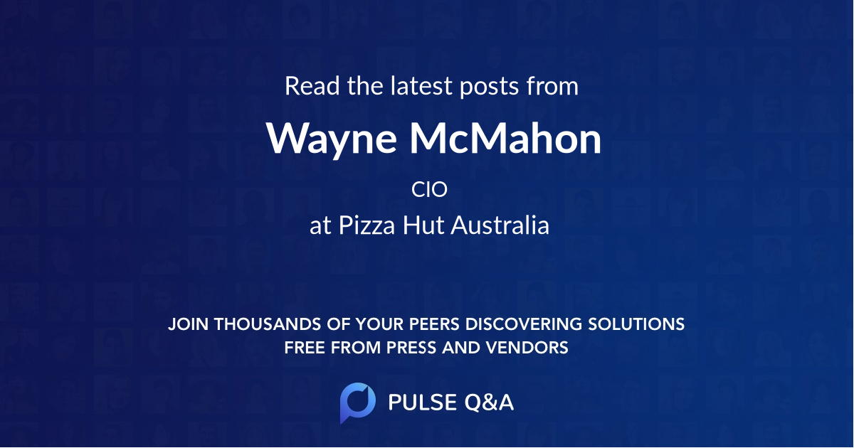 Wayne McMahon