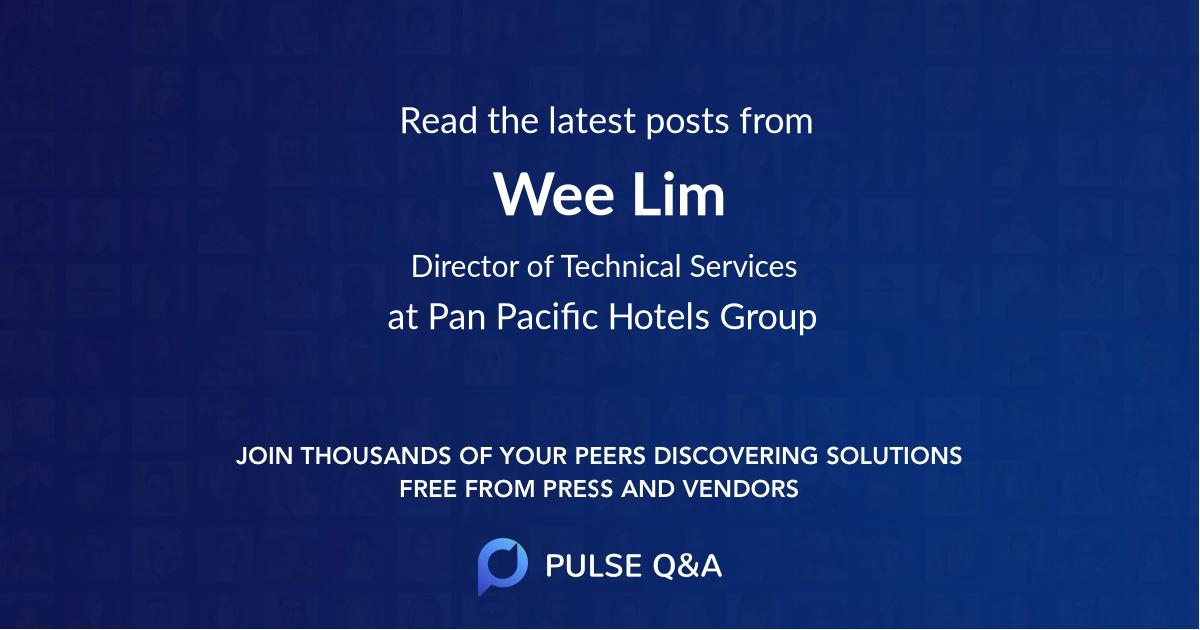 Wee Lim