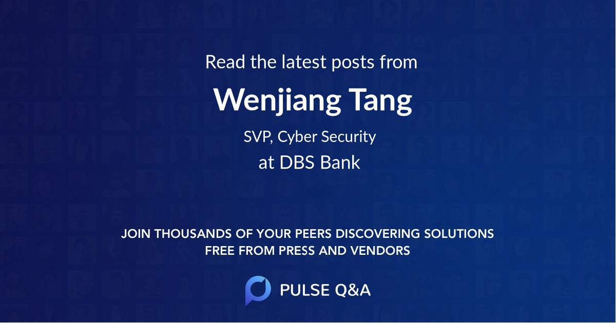 Wenjiang Tang