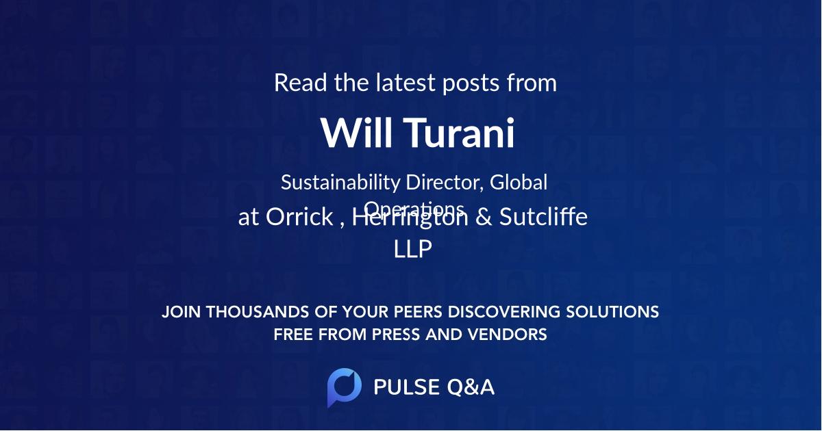 Will Turani