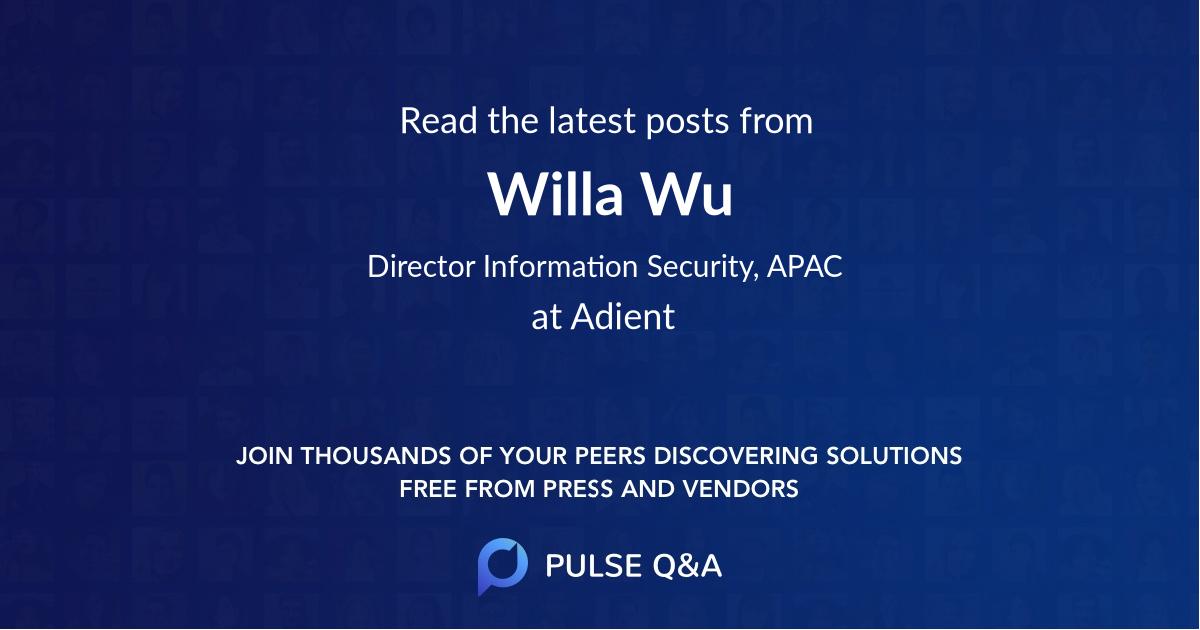Willa Wu