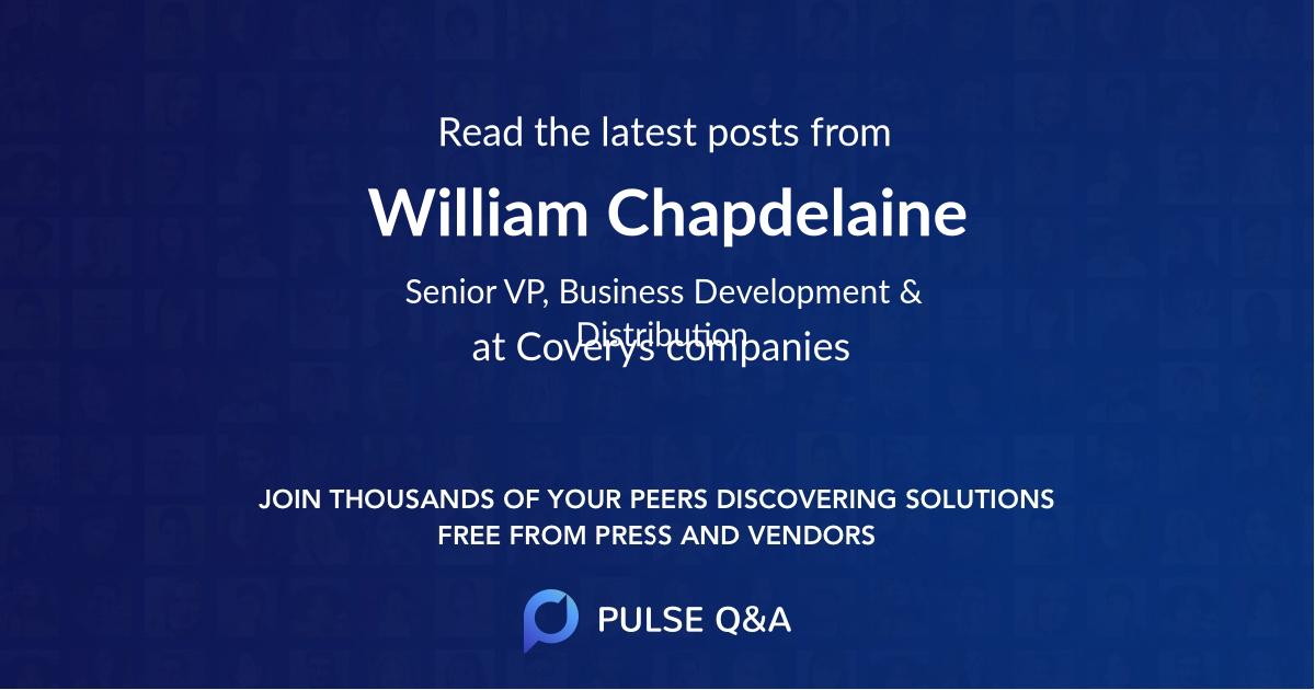 William Chapdelaine